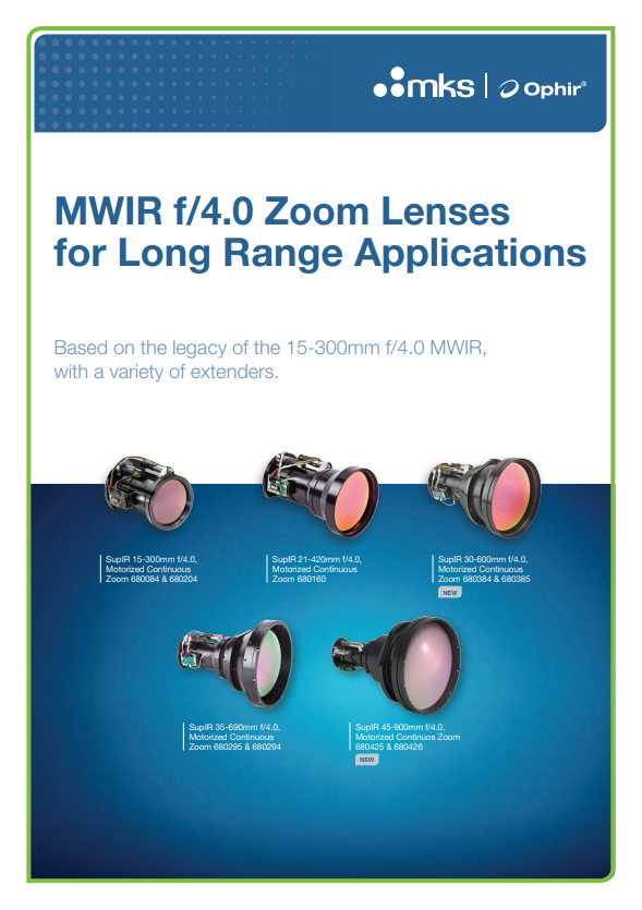 MWIR f/4.0 Long Range Brochure
