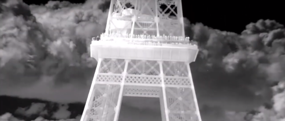 The Beautiful Paris in Thermal Imaging. Ophir's 15-300mm f/4 MWIR integrated in Noxant NoxCore HD