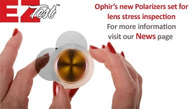 Ophir CO2 optics group produces a full range of OEM and replacement optics including beam-delivery and cavity optics as well as windows, for medical and industrial lasers: Plano Convex, Meniscus lenses, Silicon or Copper mirrors and Cavity Optics
