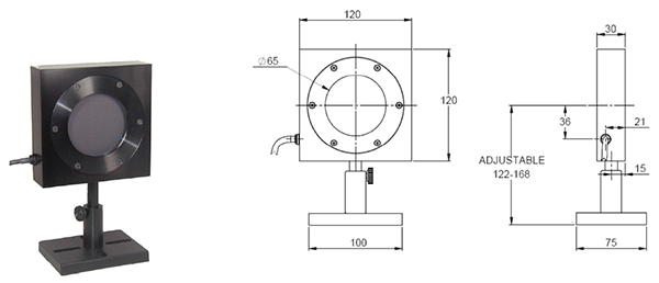 Calibration of Ophir L50(300)A-IPL sensor for use with IPL sources