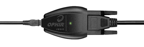 Figure 1: Barely recognizable as a separate component:<br /> The USB interface is what connects the sensor