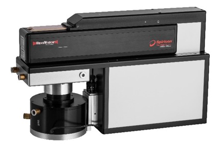 Figure 4: BeamWatch Integrated analyzes the beam profile of high-power lasers without touching the beam.